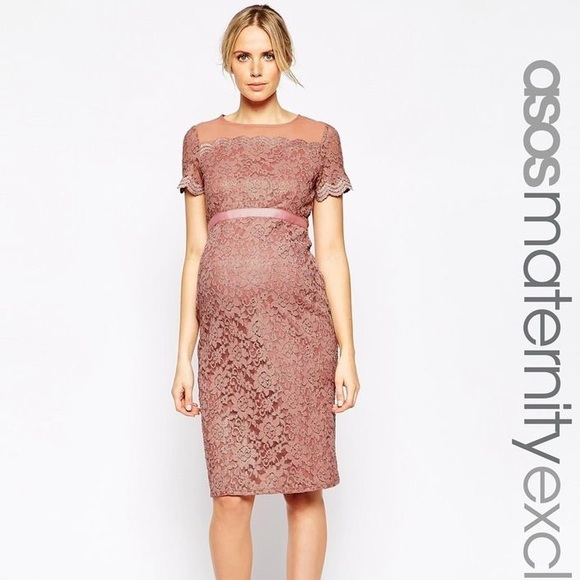 c4273a5a8ecae ASOS Maternity Dresses & Skirts - ASOS Maternity lace dress